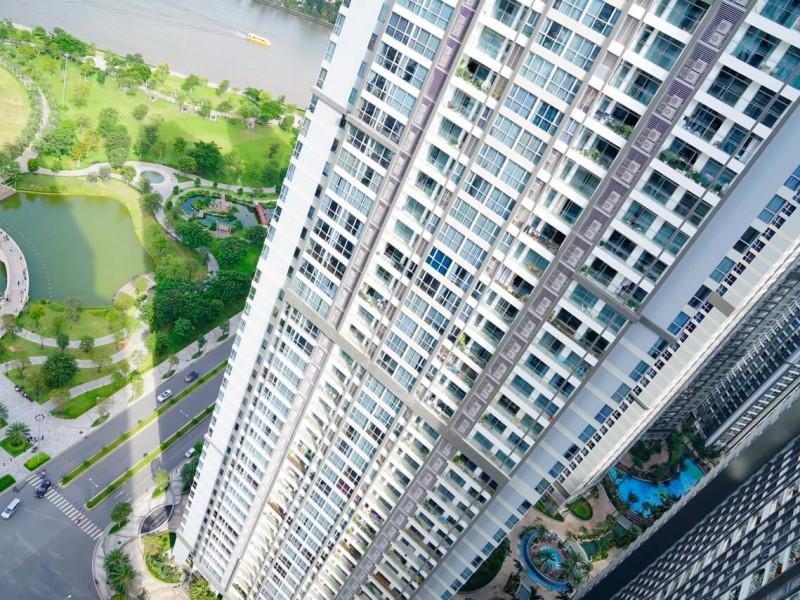 Bán căn hộ 3 phòng ngủ Vinhomes Central Park toà Landmark full nội thất giá 5 tỷ 7, bao phí