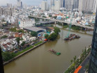 Cho Thuê Căn 2 PN OT Toà Aqua 1 Vinhomes Golden River Nhà Trống Giá 1250$ không bao phí