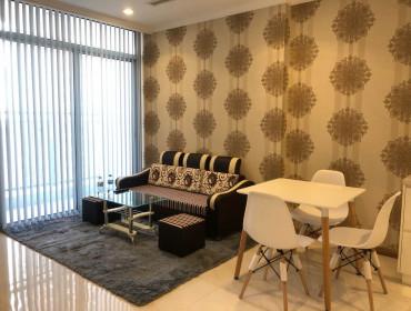 Bán Căn Hộ Vinhomes Central Park1 Phòng Ngủ Toà Landmark  Full Nội Thất Giá 3,3 ty bao thuế phí