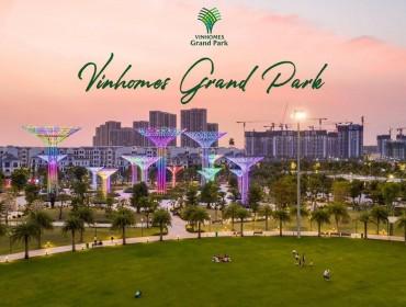 Cho thuê căn hộ chung cư Vinhomes Grand Park quận 9 3 phòng ngủ giá 2021
