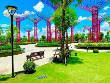 Công Viên Ánh Sáng Vinhomes Grand Park Ở Đâu, Giá Vé Bao Nhiêu? Địa Điểm Chụp Hình Checkin