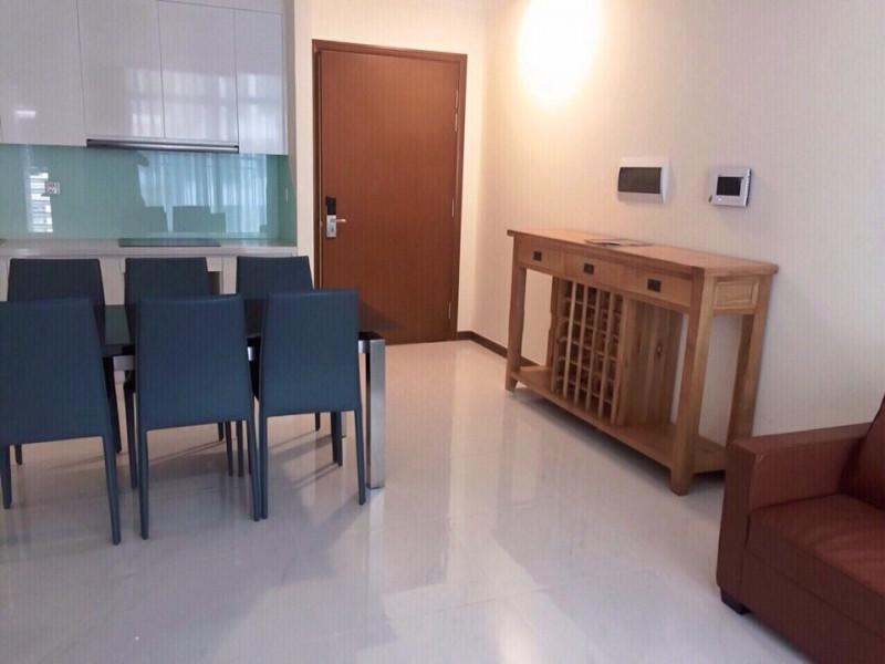 Apartment in Vinhomes Central Park for rent block Landmark 6, 2 bedrooms full furniture price 950 $ cost