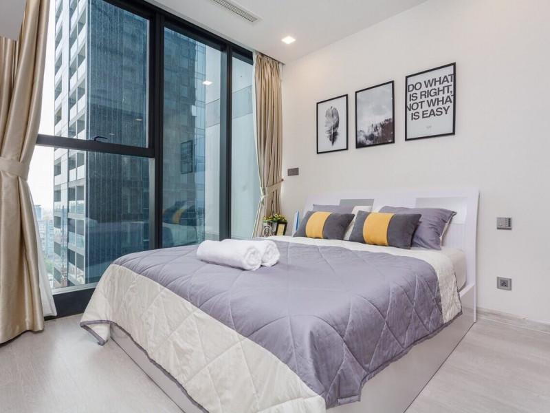 Cho Thuê Vinhomes Bason 1 Phòng Ngủ Đầy Đủ Nội Thất - Giá Thuê 1000 USD