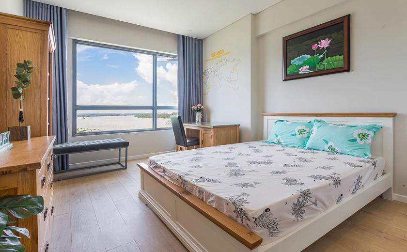 phòng ngủ căn hộ Đảo Kim Cương