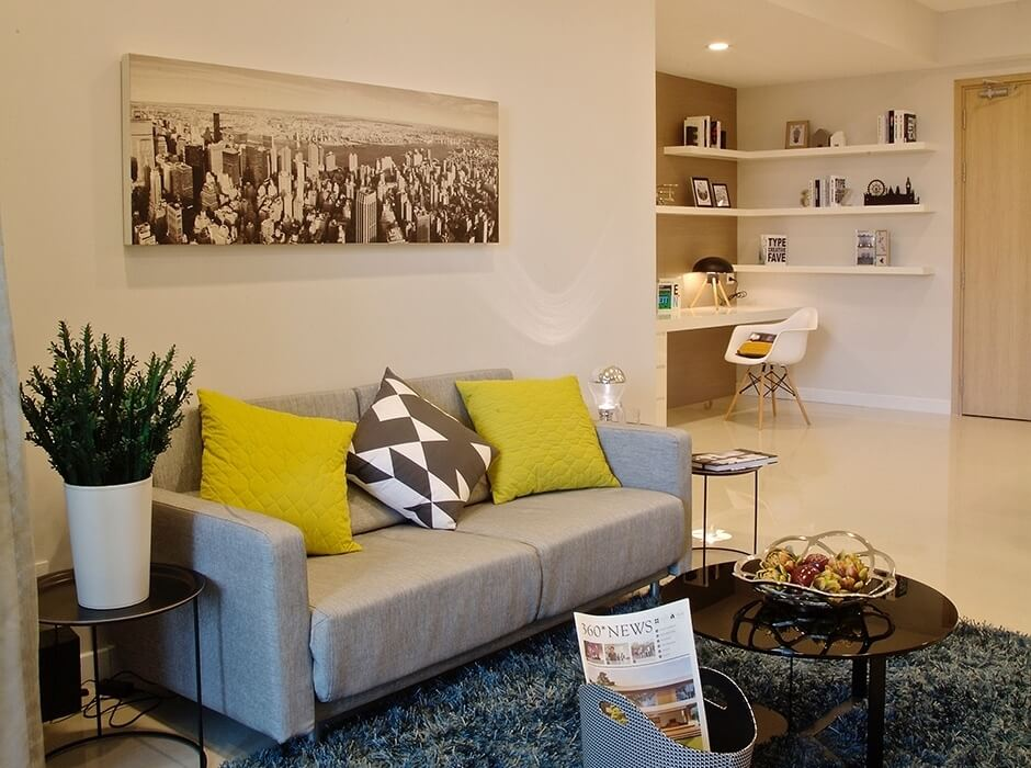 căn hộ  Estella Heights 3 phòng ngủ Quận 2