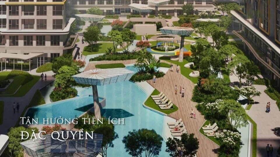 Hồ bơi căn hộ Masteri Centre Point