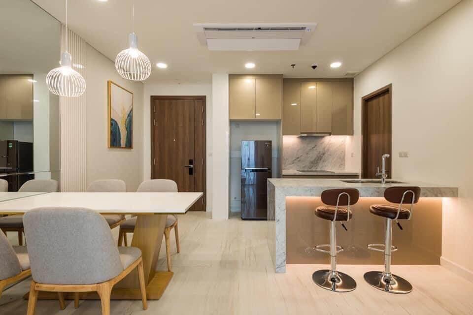 Thiết kế căn hộ Kingdom 101 hiện đại