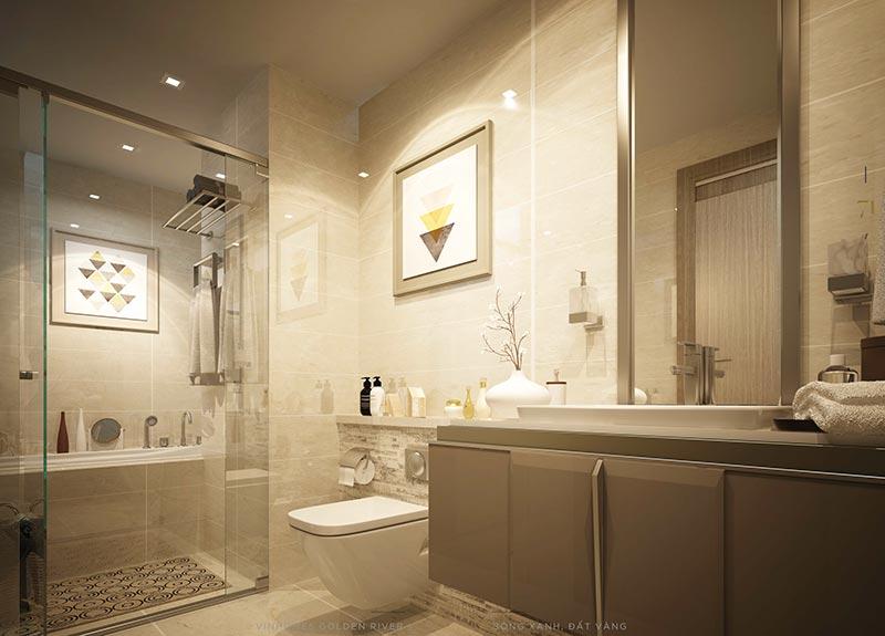 phòng tắm vinhome golden river
