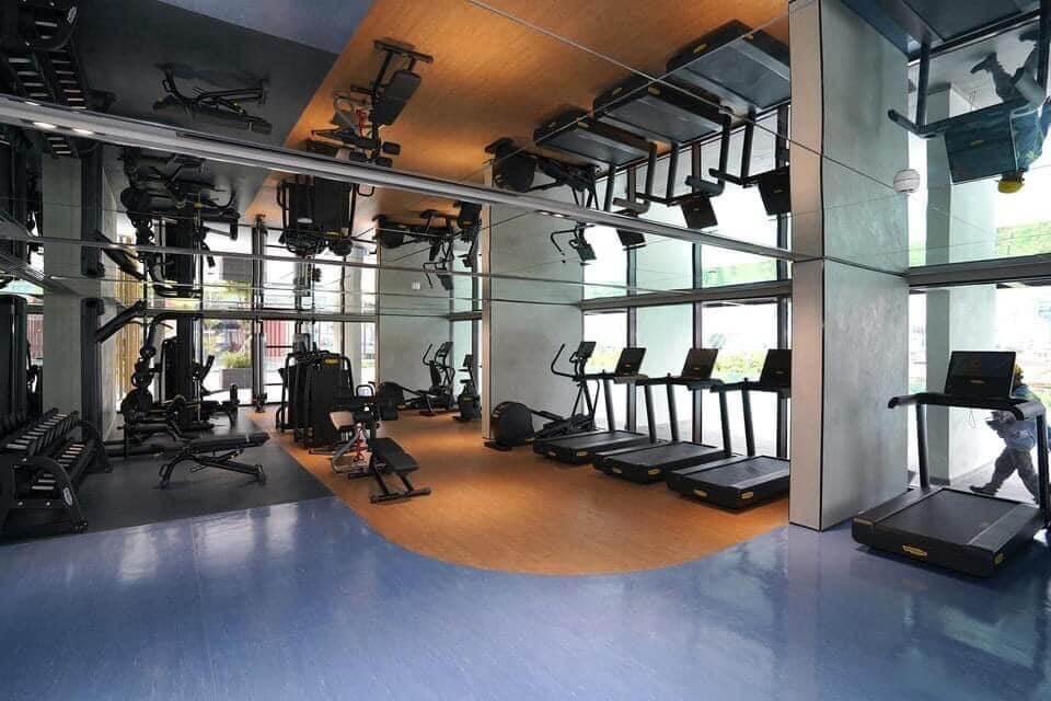 phòng tập gym căn hộ Metropole Quặn 2