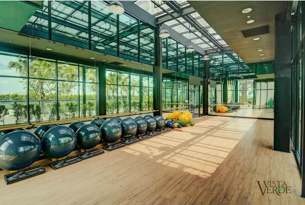 Phòng tập Gym Căn Hộ Vista Verde