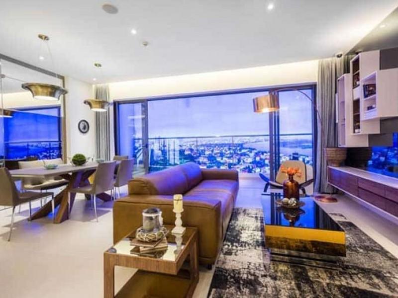 Bảng giá cho thuê căn hộ Sunwah Pearl quận Bình Thạnh