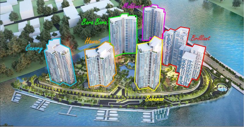 Tổng quan cho thuê căn hộ Đảo Kim Cương