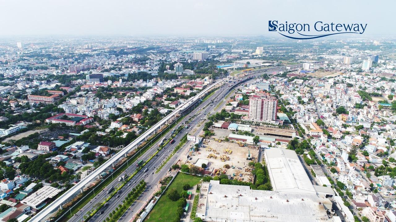 view can ho Saigon Gateway Q9
