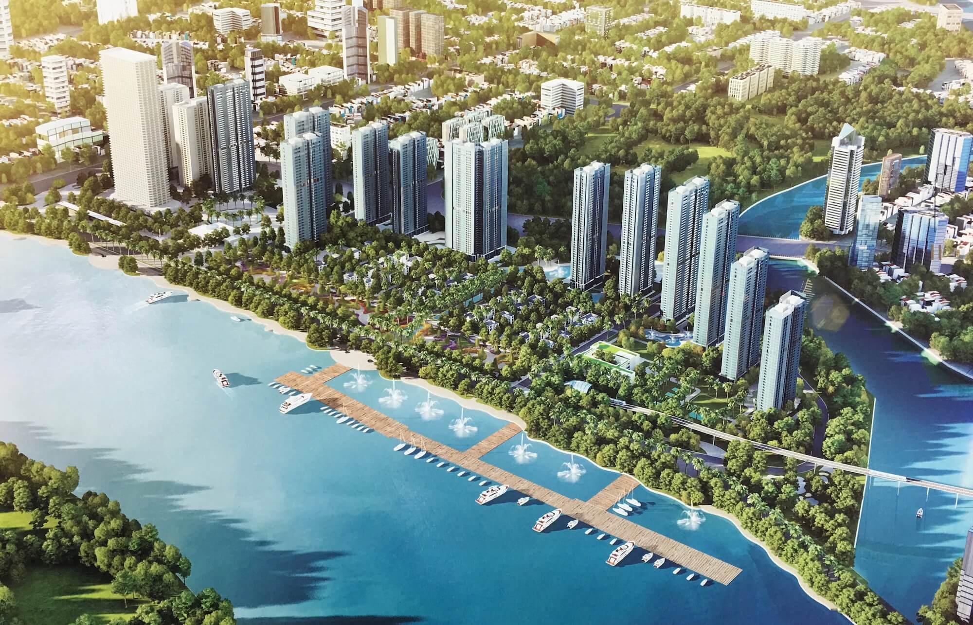 Tổng quan dự án Vinhomes Golden River Ba Son