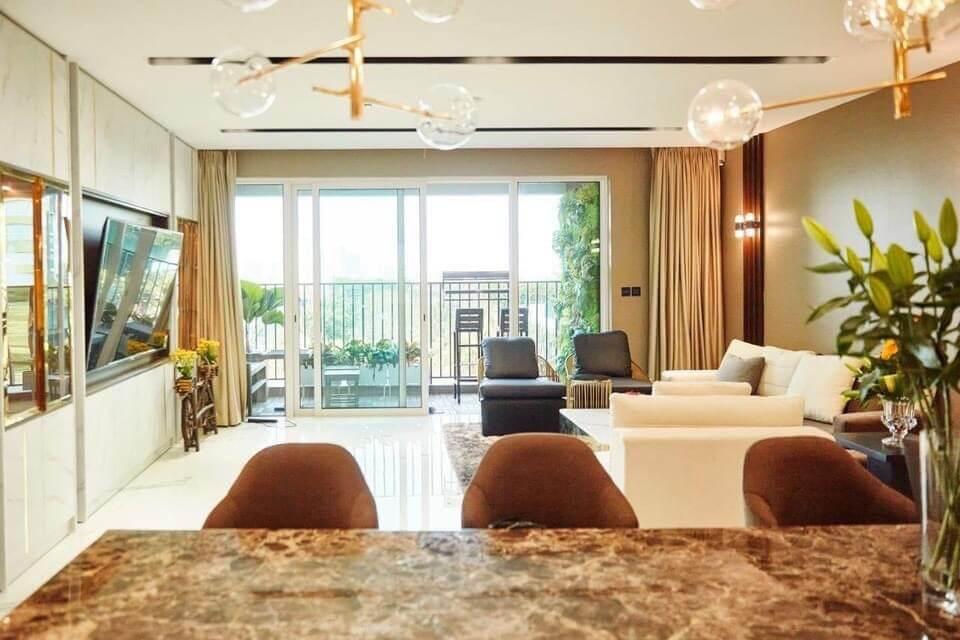 Hinh ảnh nội thất căn hộ Vista Verde