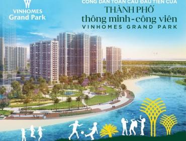 Cho Thuê Căn Hộ Chung Cư Vinhomes Grand Park quận 9 2 phòng ngủ Giá 2021